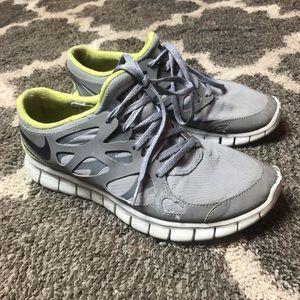 Womens NIKE Free Run H2O Repel Shoes Size 8